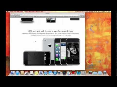 HOW TO INSTALL IOS 6 ON iPhone 2g 3g, iPod Touch 1g 2g (OLD DEVICES)