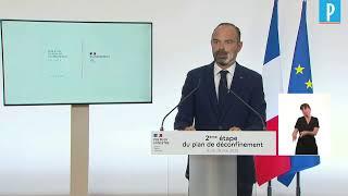 Edouard Philippe lève le voile sur l'acte 2 du déconfinement