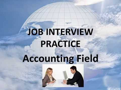 08 Job Interview Practice (Accounting Field) Unit 6 practice 3