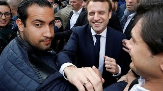 Download French president's aggressive bodyguard sparks first government scandal Video