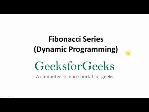 Program for Fibonacci numbers using Dynamic Programming | GeeksforGeeks