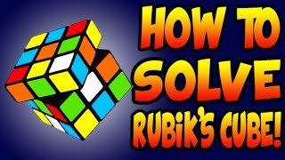 How To Solve A 3x3x3 Rubik S Cube Best And Easiest Method