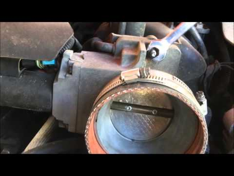 Chevy 6.0 Throttle Body Cleaning