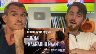 Berklee Indian Ensemble - Unnai Kannadhu Naan REACTION!!!