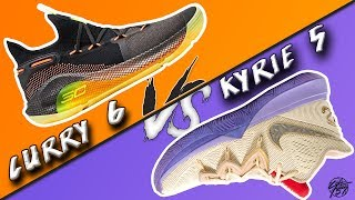 a5e6e83213fe Under Armour Curry 6 vs Nike Kyrie 5! What s the BETTER Basketball Shoe