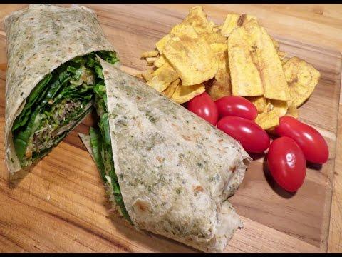 White Bean & Avocado Wrap| Lunch on the go!