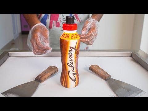 GALAXY SHAKE ICE CREAM ROLLS - SATISFYING ASMR