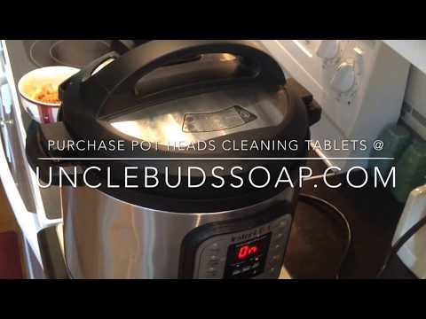Cleaning & Deodorizing Your Instant Pot & Other Pressure Cookers & Canners.