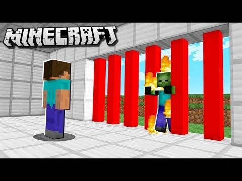 How to Make LASER DOORS in Minecraft!