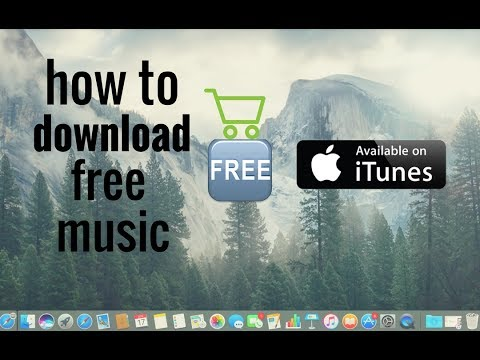 **how download free music from iTunes in a Mac or macbook**