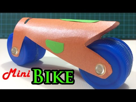 How to make Paper Bike easily with your homemade materials at home for your kids | Creative Channel