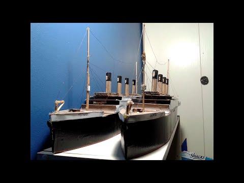 RMS Titanic (Cardboard Model)