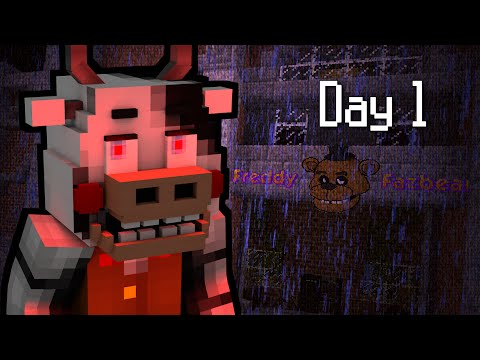 MINE Nights at Freddy's 2 - FACTORY | Day 1 | FNAF Minecraft Roleplay