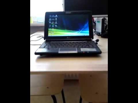 Asus EEE PC 1000H hard drive HDD upgrade temperature. 2gb of ram. Vista SP2.