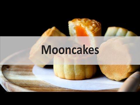 mooncakes 月饼