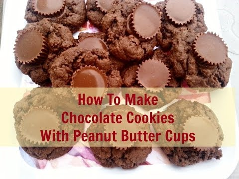 Chocolate Cookies With Peanut Butter Cups - Recipe - Jendi's Journal