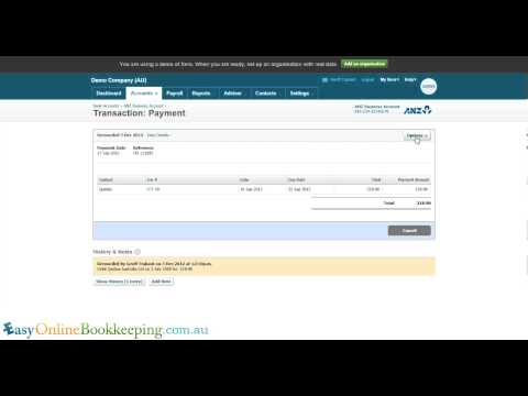 How To Amend An Invoice In Xero