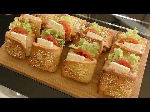 Breakfast Idea Sandwich - Easy Snacks Idea - Vegetable Sandwich - طرز تهیه ساندویچ