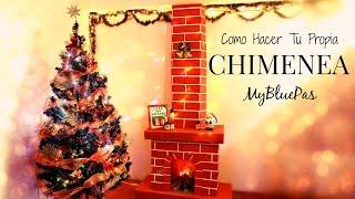 como decorar para navidad como hacer una chimenea mybluepas