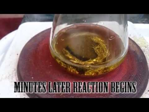 Dissolving Gold in Hydrochloric Acid and Hydrogen Peroxide