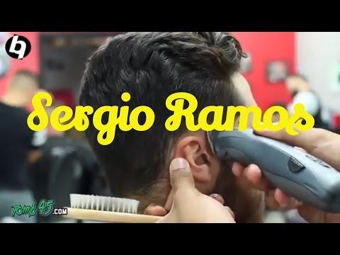 Sergio Ramos Hair   How to do Side Part Fade Haircut