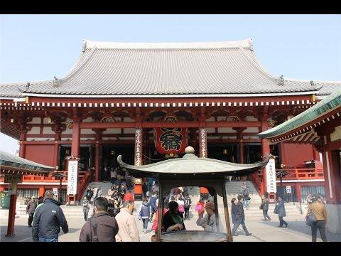 Japan Travel - Tokyo Skytree, Sensoji Temple, Ueno Park / Zoo [Day 1]