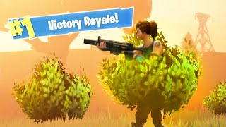 THEY DIDN'T SEE US HIDING in Fortnite: Battle Royale!