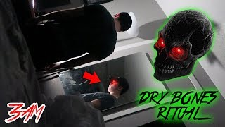 (HE CONTROLLED ME) DO NOT DO DRY BONES RITUAL AT 3 AM!! (GONE WRONG)