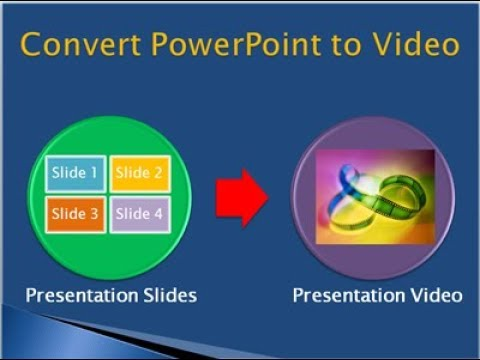 how to convert PPT into Video Hindi / Urdu