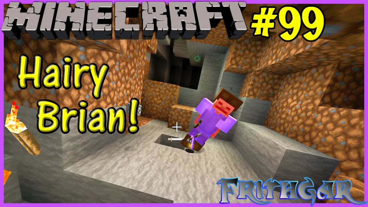 Let's Play Minecraft #99 Hairy Brian!