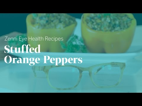 Eye Health Recipes: Orange Bell Peppers