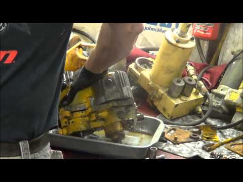 5-22-13 Cub Cadet 129 hydrostatic pump repair assessment