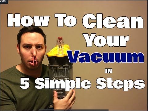How To Clean A Vacuum Cleaner | 5 Simple Steps