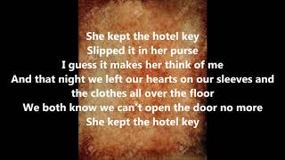 OLD DOMINION HOTEL KEY LYRICS