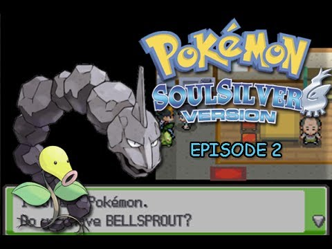 Pokémon Soulsilver Speed Challenge Part 2 - Bellsprout and Rocky