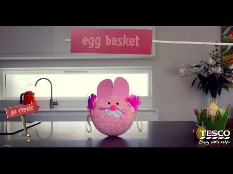 Go Create: DIY Easter Egg Basket