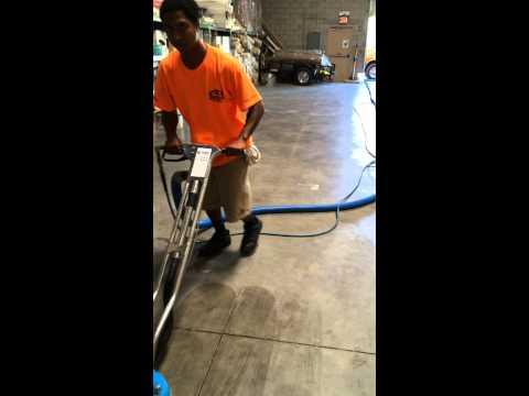 Concrete cleaning Phoenix carpet repair & cleaning