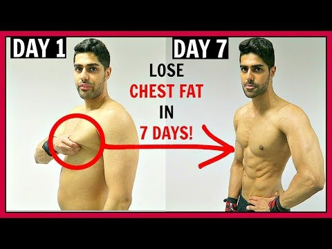 How To Lose CHEST FAT In 1 Week - THIS REALLY WORKS!