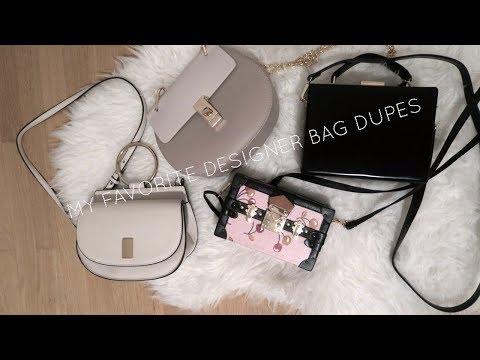 Best Designer Handbag Dupes | Chloe, Prada, Louis Vuitton, Mansur Gavriel