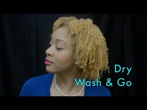 Curls, Coils & Kinks: Dry Wash & Go
