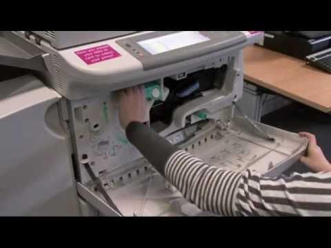 Replacing Toner Cartridges and Removing Paper Jams