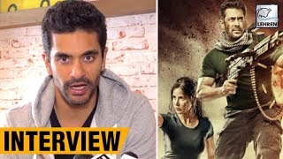 Angad Bedi Talks About Action Scenes In Tiger Zinda Hai | Salman Khan  | LehrenTV