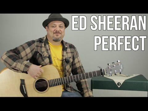 Perfect - Ed Sheeran // Guitar Tutorial (Picking & Strumming) How to Play Easy Songs