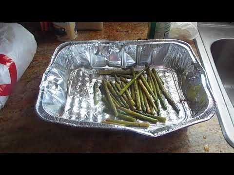 Baked Asparagus with Parmesean cheese: Thanks Chriscooks4u2