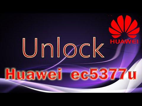 Unlock Huawei EC5377u and Huawei E5330 with Old Huawei
