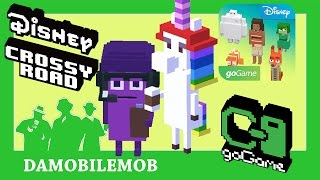 ★ DISNEY CROSSY ROAD SEA   DREAM DIRECTOR and RAINBOW UNICORN (INSIDE OUT Weekend Challenge)