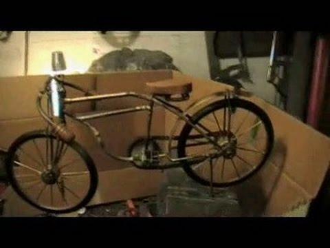 Making A Mini Indian Motorbike .