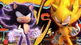 Sonic Epic Fights: Fleetway Super Sonic VS Sonic EXE (pivot