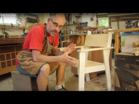 Pallet Chair Design