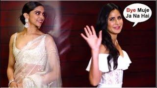 Katrina Kaif LEAVES As Soon As Deepika Padukone ARRIVES At Jave Akhtar's Birthday Party